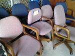 Lot: 02 - (9) Office Chairs