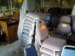 Lot: 05 - (17) Stackable Chairs