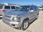 Lot: 4858 - 2001 Infinity QX4 SUV