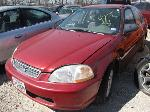 Lot: B912197  - 1998 HONDA CIVIC LX