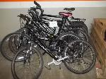 Lot: 221 - (5) RALEIGH POLICE BIKES
