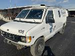 Lot: 8 - 2000 FORD 350 ARMORED VAN - KEY / STARTED