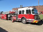 Lot: 11-05261 - 2005 SPARTAN LADDER FIRE TRUCK