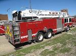 Lot: 12-98211 - 1998 SPARTAN LADDER FIRE TRUCK