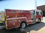 Lot: 14-02062 - 2002 SPARTAN PUMPER FIRE TRUCK