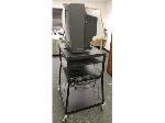 Lot: 10.BE - DRY ERASE BOARD, TV CART, STOOL, VCR