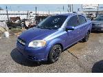 Lot: 25-70630 - 2009 Chevrolet Aveo - Key