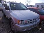 Lot: 321 - 2001 ISUZU RODEO SUV - KEY
