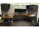 Lot: 8 - Modular workstation & Partition Panels / Dividers
