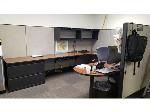 Lot: 9 - Workstation w, File Cabinet