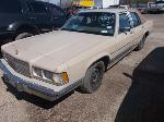 Lot: 5411a - 1989 MERCURY GRAND MARQUIS - KEY / STARTED