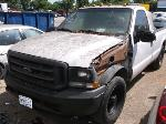 Lot: 5220a - 2004 FORD F250 TRUCK - STARTED
