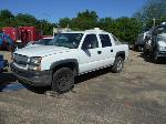 Lot: B 14 - 2004 CHEVY AVALANCHE PICKUP