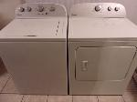 Lot: A7823 - Working Whirlpool Washer Dryer Set