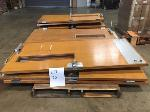 Lot: 20 - (10) Wooden Doors
