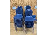 Lot: 75 - (19) Student Chairs