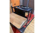 Lot: 105,106&107 - (4) Media Carts, Library Cart & (3) Portable Tables w/ Bench