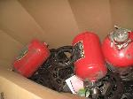 Lot: 8.PIONEER - FIRE EXTINGUISHERS & DAMPERS
