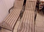 Lot: A7861 - Pair of Adjustable Chaise Lounge Chairs