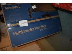 Lot: 2076 - Samsung Curved Monitor