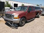 Lot: 5138a - 2001 FORD F250 PICKUP - KEY / STARTED