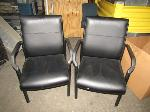 Lot: 03 - (2) Black Office Chairs