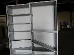 Lot: 30 - (2) Metal Shelf Units