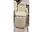 Lot: 22.BE - MIRROR, CART, (7) SPA CHAIRS & (5) COSMETOLOGY CARTS