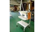 Lot: 81.UV - OMNIMAX MAGNIFYING LAMP ON A SILHOUET TONE CART, (2) ROLLING CARTS, EQUIPRO WHICH ROLLING CART