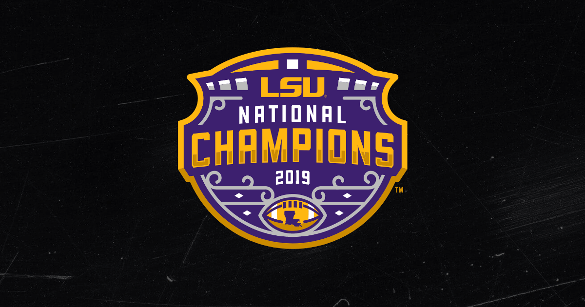 LSU Football - 2019 National Champions
