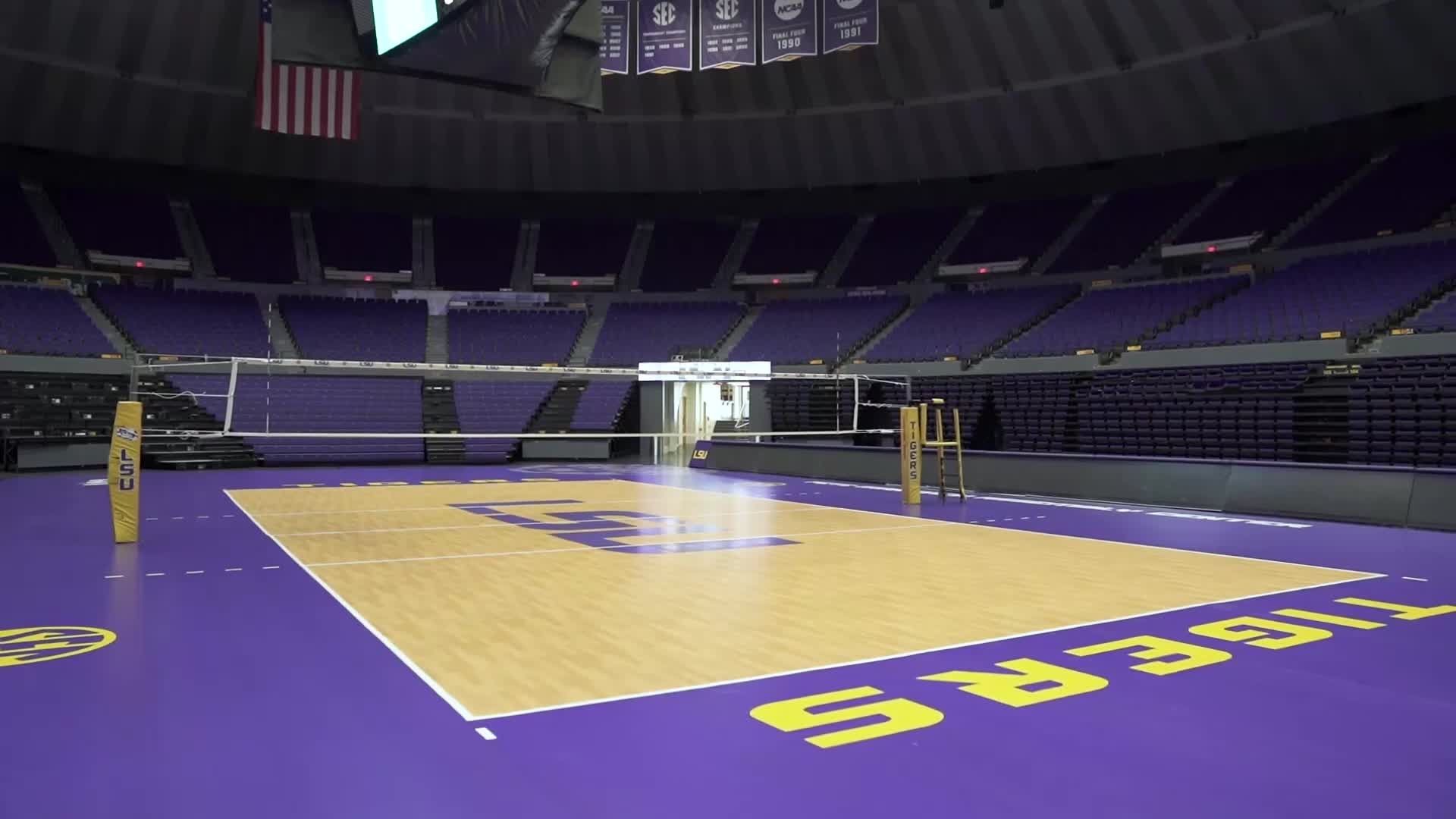 Lsu Volleyball Facilities Lsu Tigers