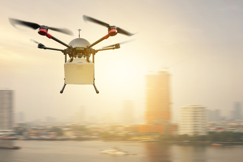 Drone era in shipping