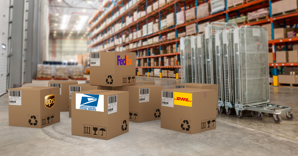 USPS vs UPS vs FedEx vs DHL
