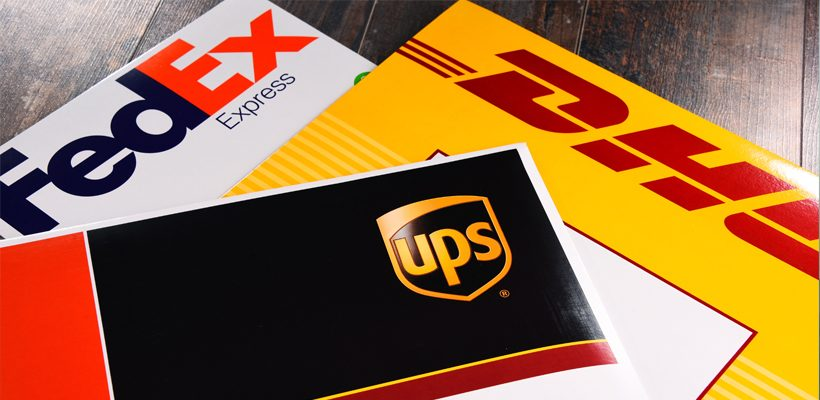 FedEx, UPS and DHL