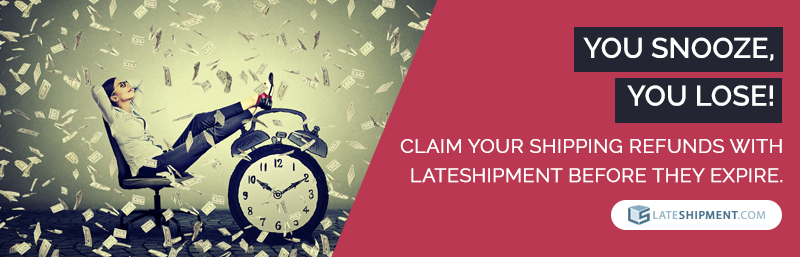 LateShipment.com helps you claim guaranteed service refunds