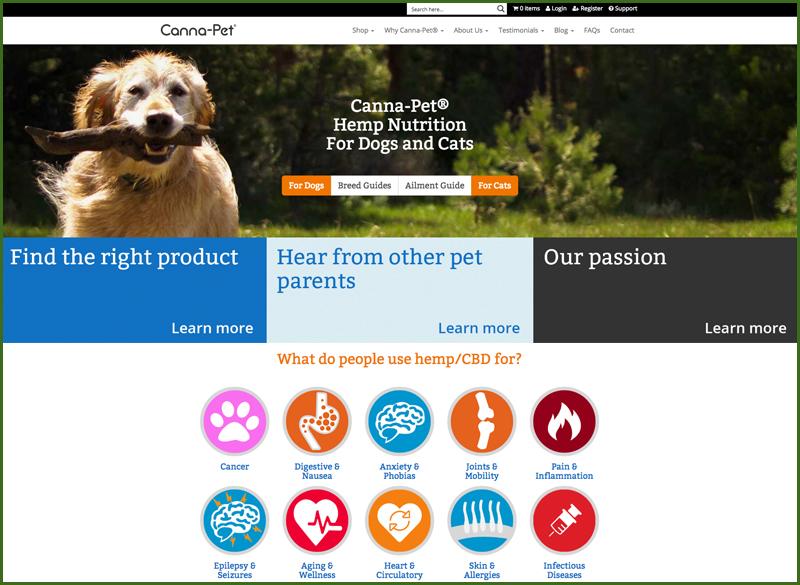 canna pet cbd pet products