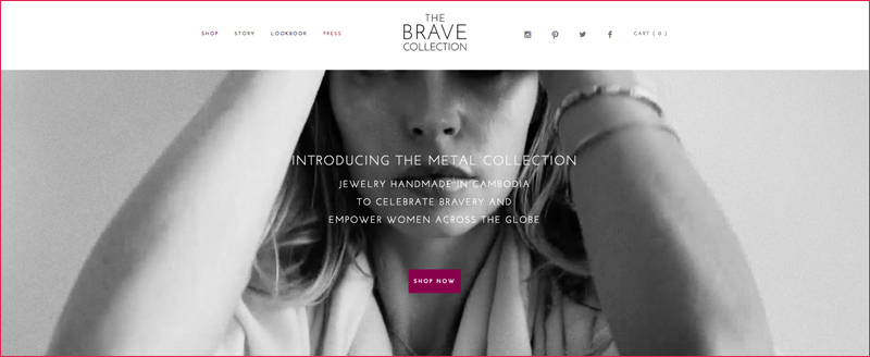 The Brave Collection HomePage