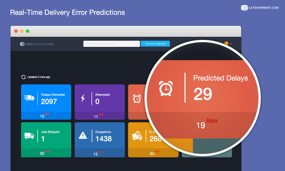 Real-Time Delivery Error Predictions