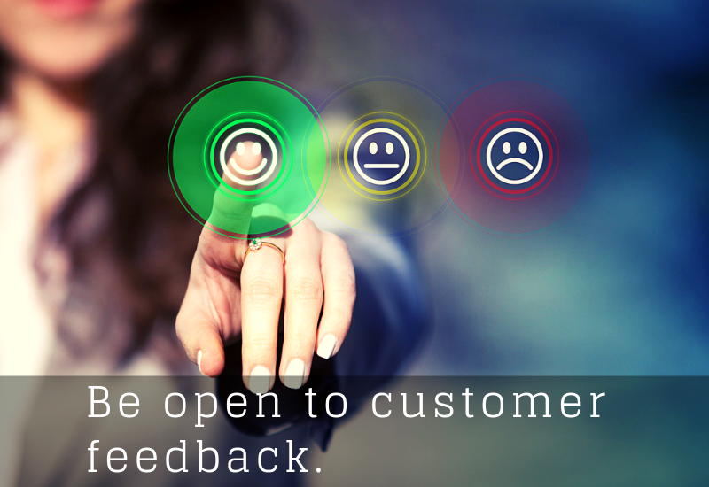 A depiction of customer feedback