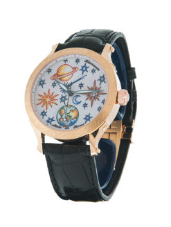 Zannetti 18k Rose Gold Full Sky
