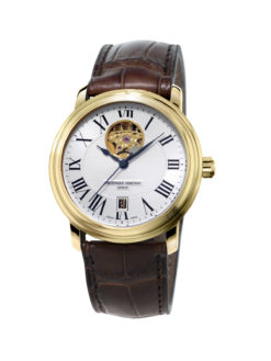 Frederique Constant Heart Beat Accessible Luxury Gold Tone