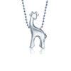 Alex Woo Little Animals Giraffe in Sterling Silver 600-2445