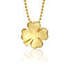 Alex Woo Little Luck Clover in 14K Yellow Gold