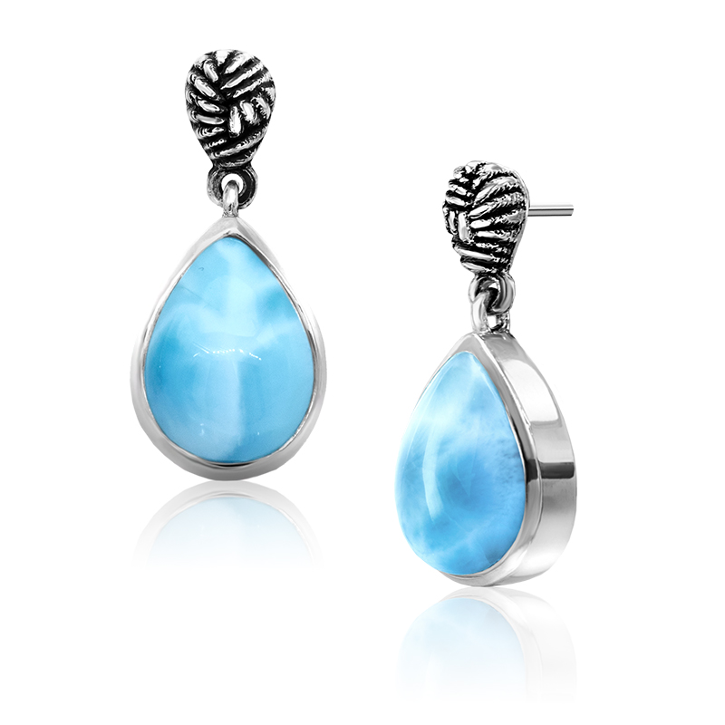 Larimar Marahlago Earrings