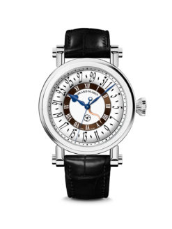 Speake-Marin Serpent Calendar 42mm Titanium Brown