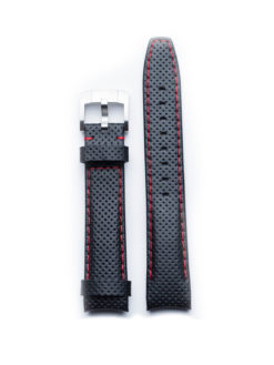 Everest Band Racing Leather Black with Red