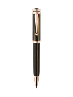 Montegrappa Ducal Pucult Brown RoseGold Emperador Pen
