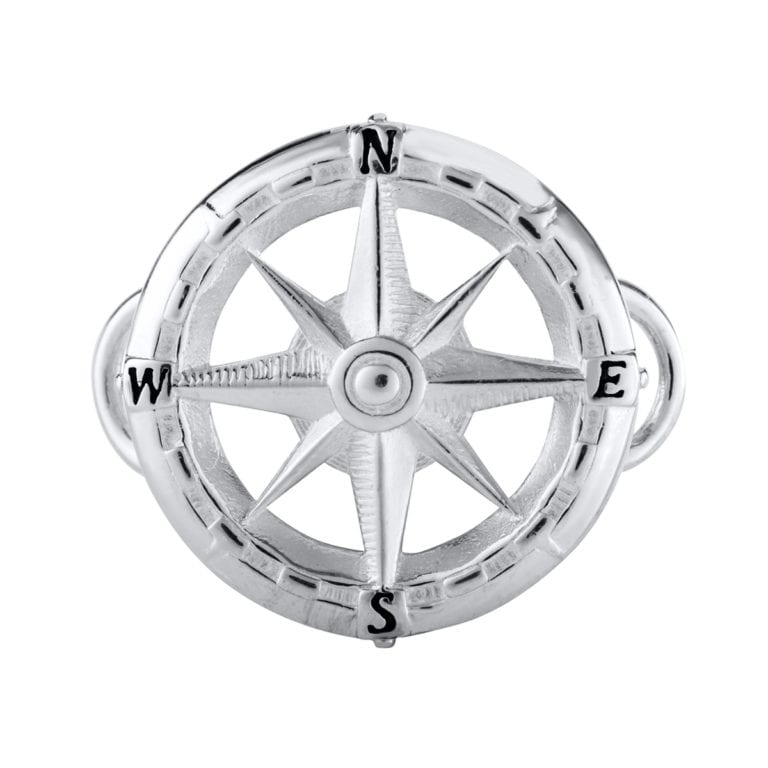 SS COMPASS ROSE CLASP