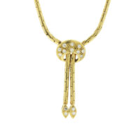 18k yellow diamond Fashion necklace