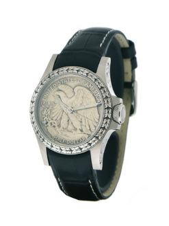 Orion Walking Liberty watch angled